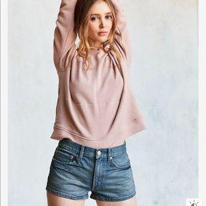 UO BDG Essential Mid-rise Tinted Denim Shorts